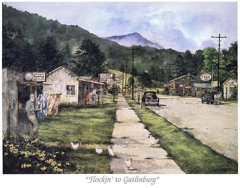 Flockin' To Gatlinburg
